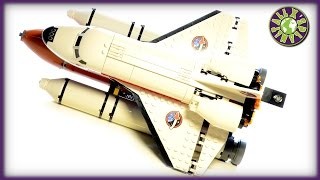 Lego City Space 2015 Space Port With Space Shuttle Stop Motion Review | ALEXSPLANET