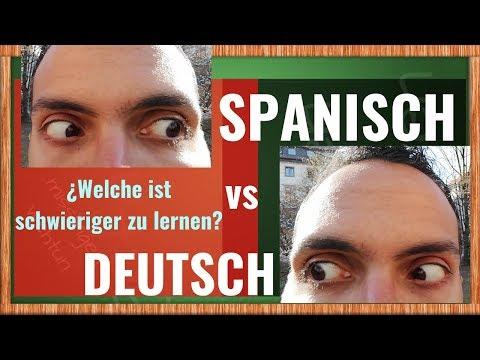 Spanisch vs. Deutsch - Was ist schwieriger zu lernen?