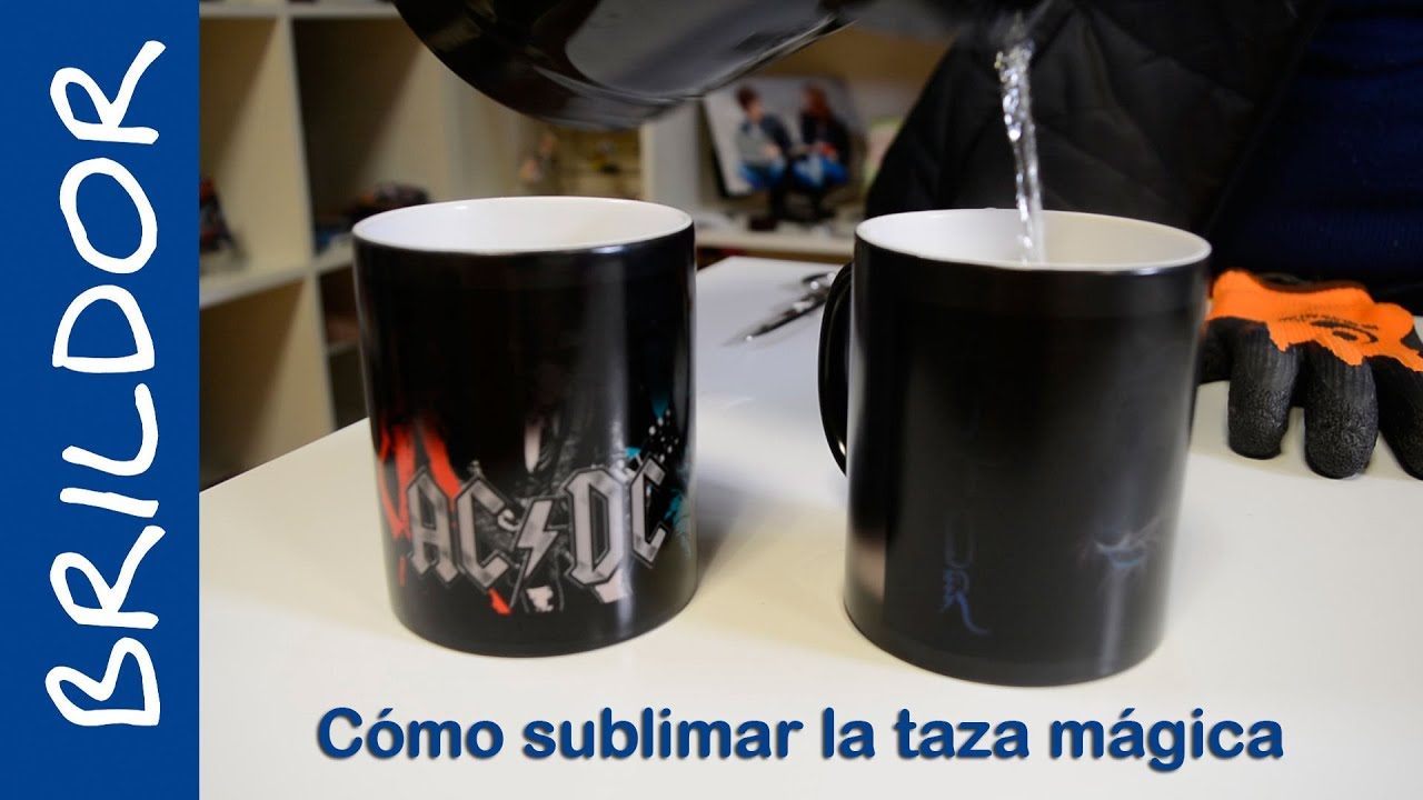 C mo sublimar taza m gica youtube - Taza termica para cafe ...
