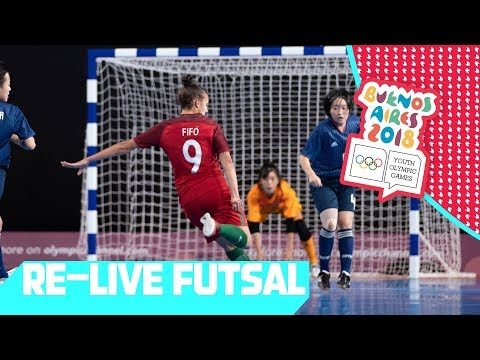 RE-LIVE | Day 11: Futsal | Youth Olympic Games 2018 |Buenos Aires