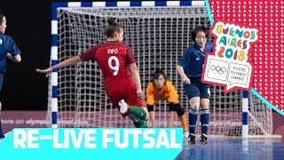 RE-LIVE | Day 11: Futsal | Youth Olympic Games 2018 | Buenos Aires
