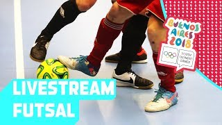 LIVE 🔴 Day 11: Futsal | Youth Olympic Games 2018 |Buenos Aires