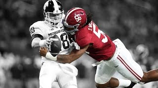 Alabama Football Biggest Hits of the Season 2016 (Lol)