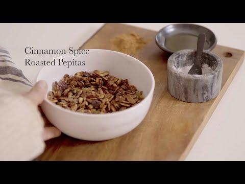 Cinnamon Spice Roasted Pepitas Recipe
