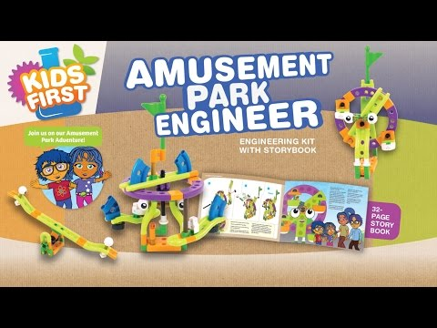 Kids First Amusement Park Engineer By Thames & Kosmos