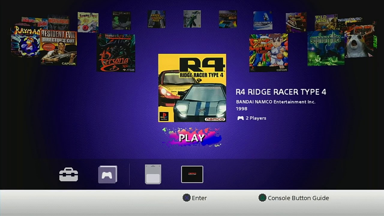 PlayStation Classic ui_menu creating and loading RetroArch auto save states