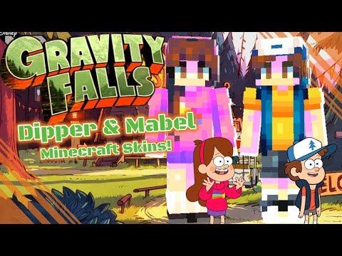 Gravity Falls Skins | Minecraft Skin Speedpaint