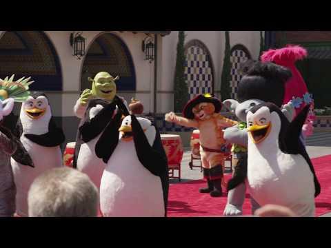 Universal Studio Hollywood - Dream Works Theater Kung Ku Panda Grand Opening Ceremony