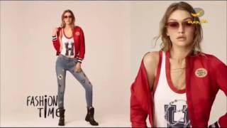 40 عارضة أزياء يشاركن في العرض الأكبر لثاني تعاون بين جيجي حديد وتومي هيلفغر