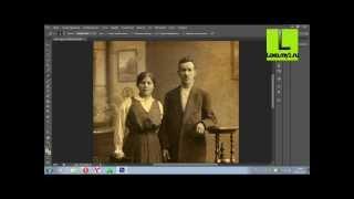 Реставрация фотографии с помощью Adobe Photosop CS6
