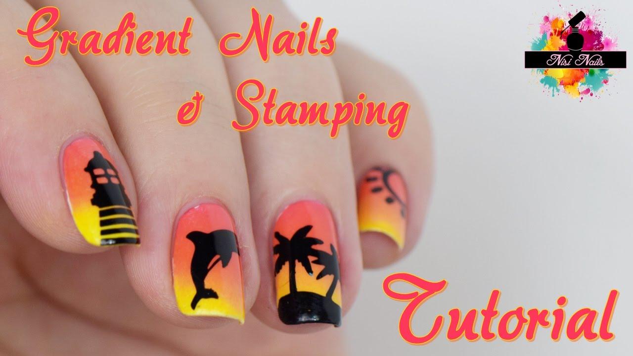 Schöne Sommernägel selber machen | Sommer Nageldesign | Summer Nails ...