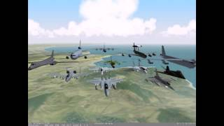 Flanker 2.0 Combat Flight Simulator PC 1999 Gameplay