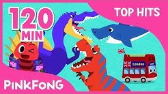 The Best Songs of April 2017 | Spinosaurus VS T-Rex | +Compilation | Pinkfong Songs for Children