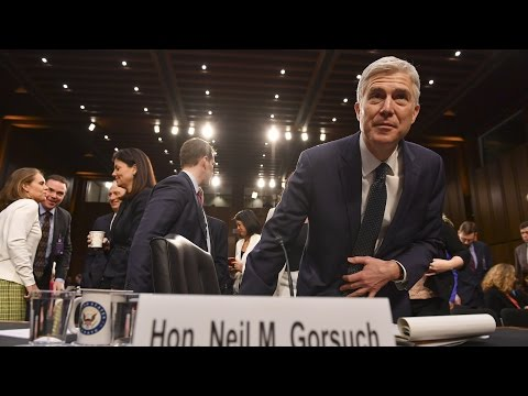 Thumbnail: Day 3 of Gorsuch's confirmation hearing, in 4 minutes