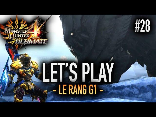 L'UKANLOS POUR PASSER G1 - #28 Let's Play MH4U HD
