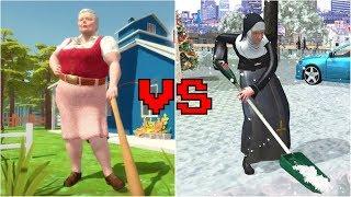 Bad Granny vs Good Nun