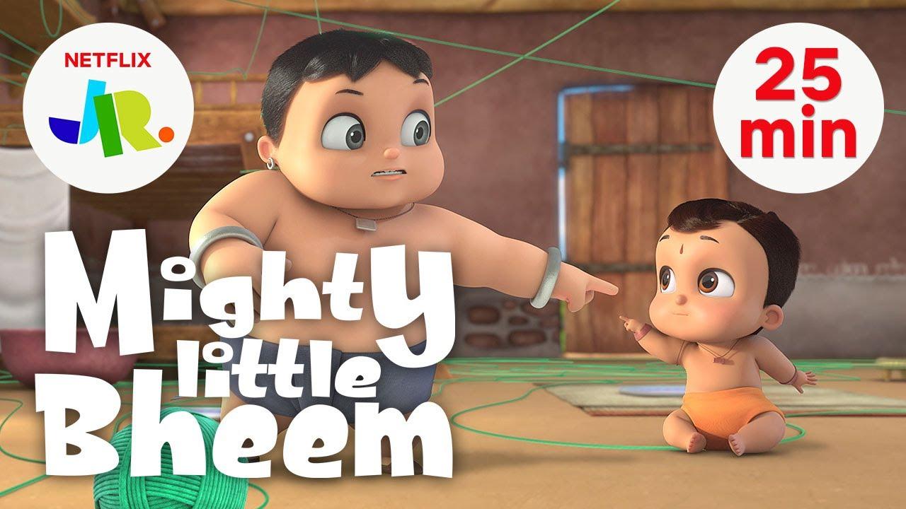 Download Mighty Little Bheem FULL EPISODES 17-21 💪 Season 1 Compilation 💪 Netflix Jr.