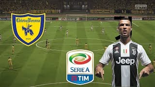 Chievo Verona vs Juventus | Serie A Italy 2018/19 | Matchweek 1 | Simulation