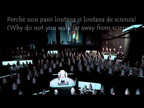 Portal 2 - Turret Opera Translated to English [HD]
