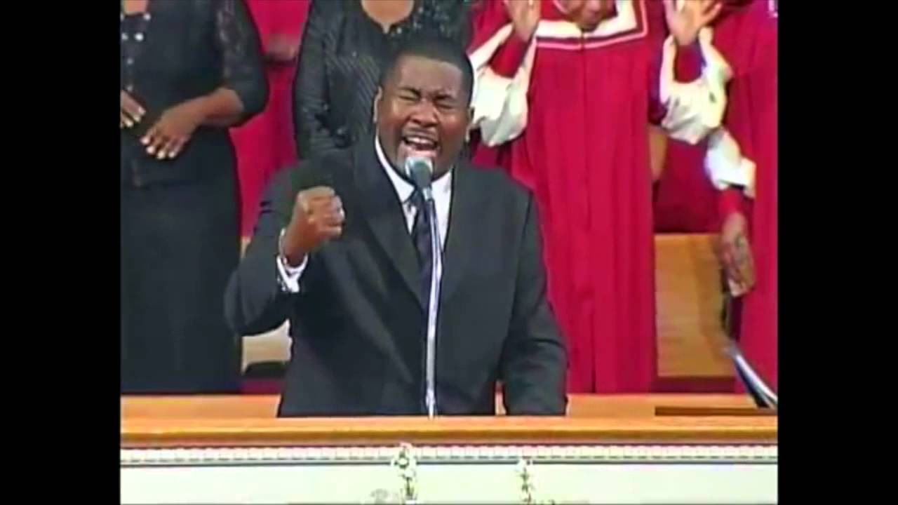 """WATCH: Pastor E. Dewey Smith Leads his Congregation in Singing, """"Lord, Keep Me Day by Day"""""""