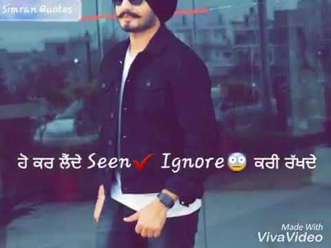 Fake friend punjabi status 2018 new
