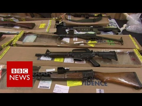 Biggest UK Weapons Stash Revealed - BBC News