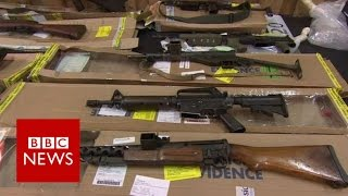 Biggest UK weapons stash revealed - BBC News