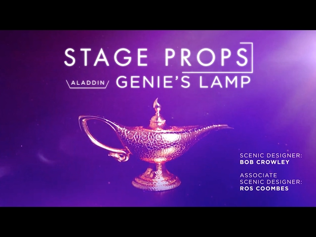 Stage Props: Genie's Lamp