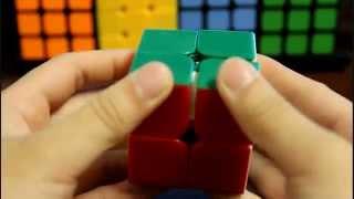 qiyi stickerless heimanba 2x2 cube review