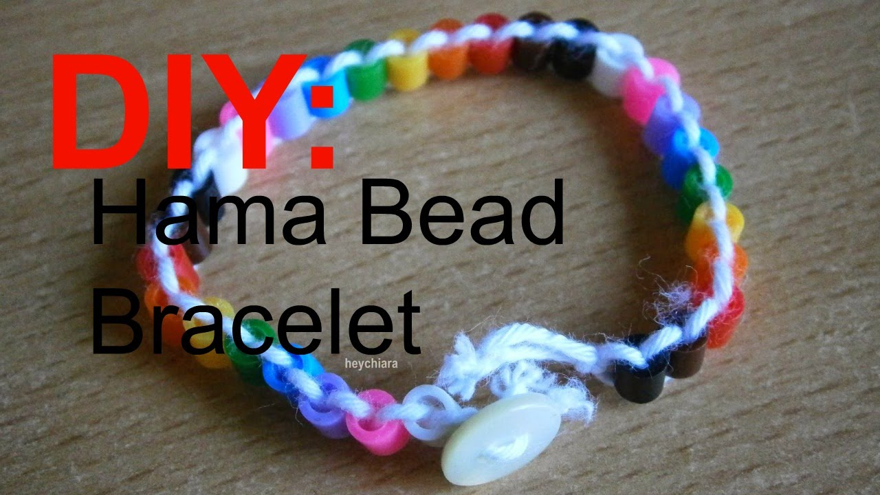 braceletskids artbeaded pin crafts pinterest craft play activitiesperler film beadsdoughnutdiy make perler doughnut kids ss bracelet bead for