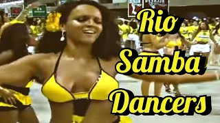 Rio Brazilian Samba Dancing 2011 Carnival & Belly Dance Similar ?