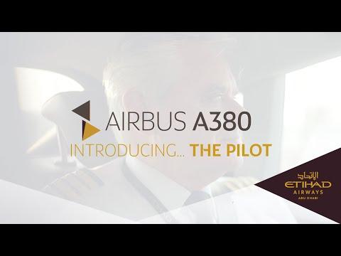 The Pilot - Airbus A380 - Etihad Airways