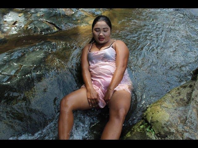 Amazing Fishing at Battambang   Beautiful Girl Fishing   How To Catch Fish By Hand Part 43