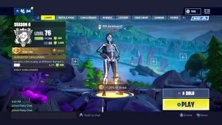 Fortnite Playing solo nouveau compte