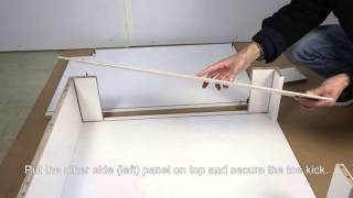 Spice Rack Cabinet Assembly Guide (TB09--TOT 200B)