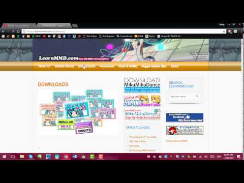 [MMD/MME] How to download and install MME [Tutorial]