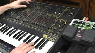 ARP 2813 Odyssey mk2 and Boss RE-20 Space Echo noodles