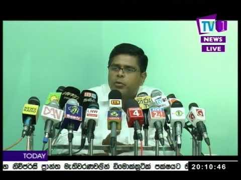 @Tv1NewsLK/TV1 Sinhala Prime Time, Wednesday,November 2017, 8PM (08-11-2017)