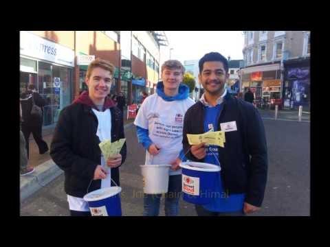 Fundraising (Mission 2) for Dorset Blind Association