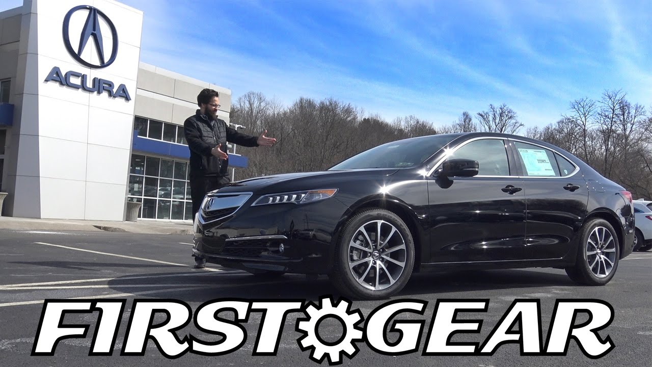 First Gear 2017 Acura Tlx Advance Review And Test Drive