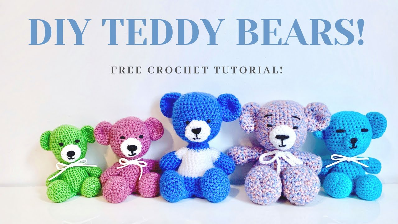 Teddy Bear and Sweater FREE Pattern | 720x1280