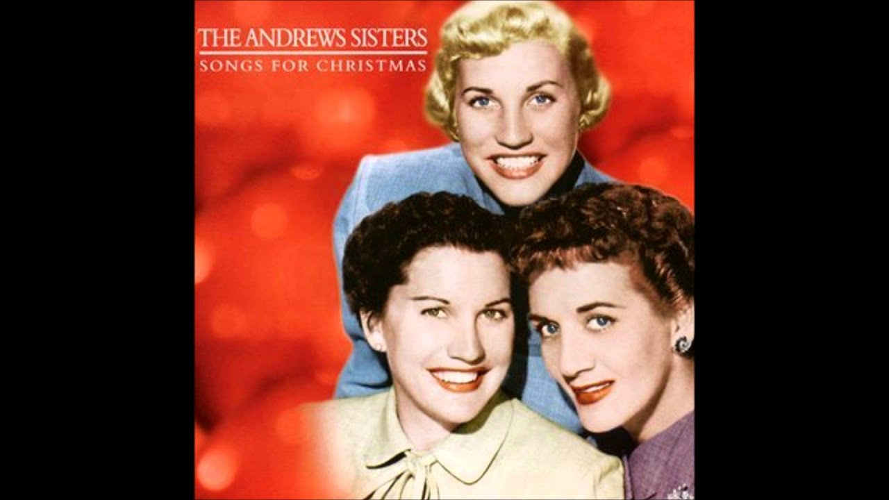 andrews sisters christmas candles