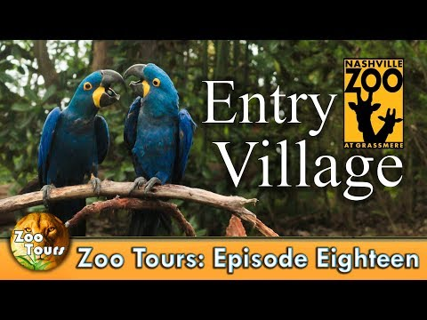 Zoo Tours Ep. 18: Entry Village at the Nashville Zoo
