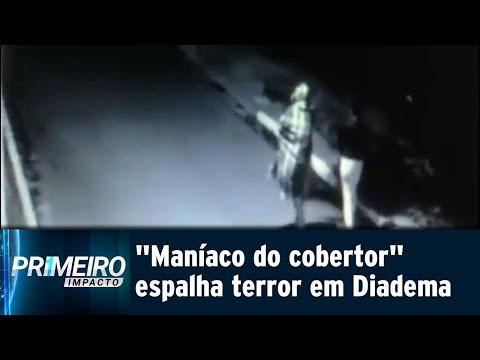 Maníaco do cobertor aterroriza moradoras de Diadema, na Grande SP | Primeiro Impacto (19/07/18)