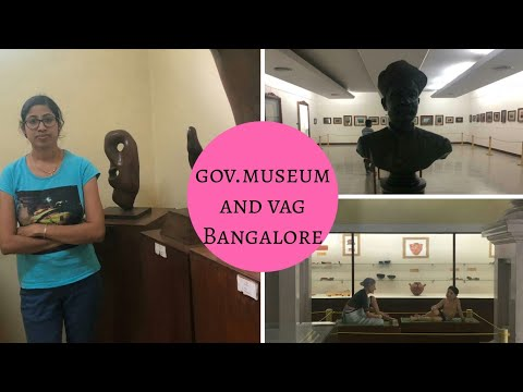 Government Museum and Venkatappa art gallery, Bangalore