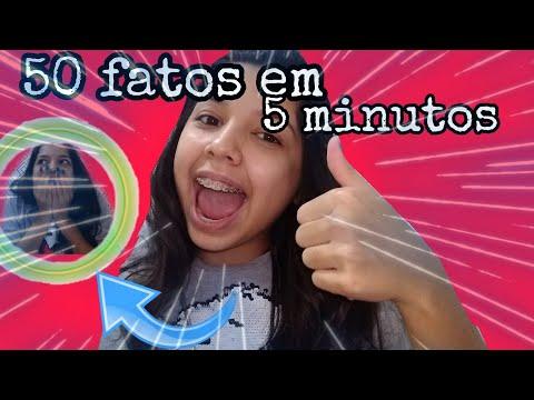 50 FATOS EM 5 MINUTOS - EDUARDA SALES