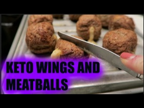 keto-superbowl-snacks:-stuffed-meatballs-and-chicken-wings!