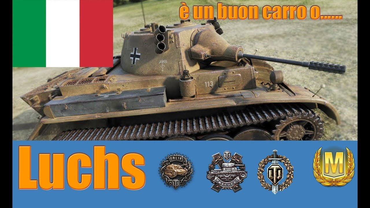 World of Tanks Luchs Review ITA #1