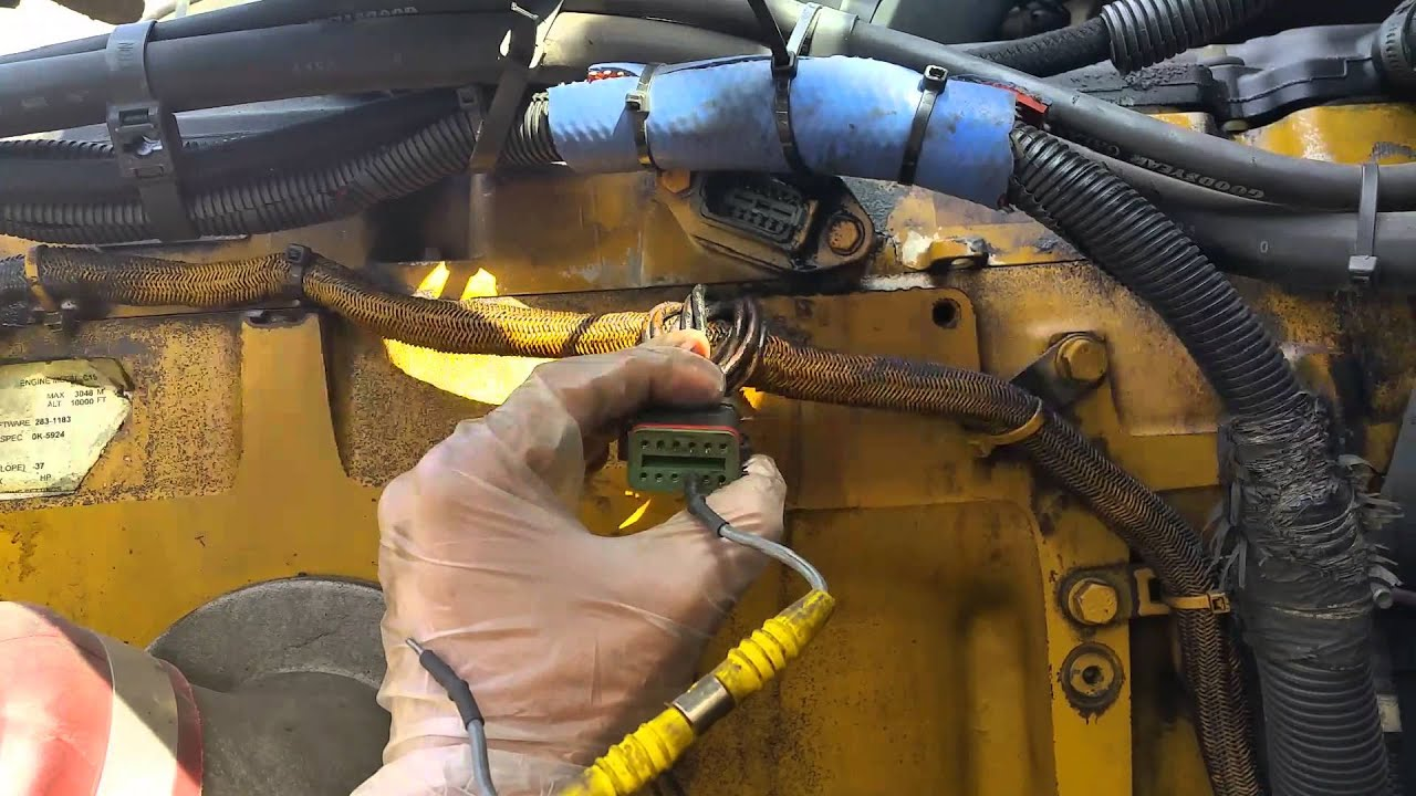 maxresdefault cat c15 iva solenoid diagnosed and replaced youtube  at nearapp.co