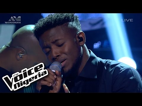"""Chike sings """"You're Not The Girl"""" / Live Show / The Voice Nigeria 2016"""